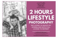 2 Hours Lifestyle Photography - £175