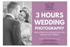 3 Hours Wedding Photography - £360