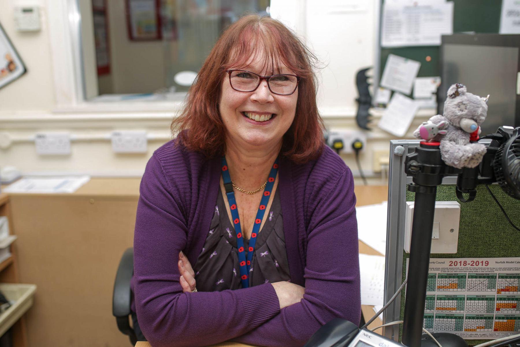 Annie Cooper, Administrator, Fakenham Junior School