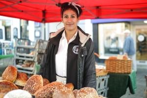 Asha Rama-Rabone,  Flour & Bean, Fakenham Market