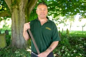 Barry Wheller, Groundsman, Fakenham Town Council