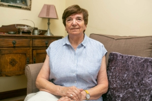 Claudie Jones, Committee Member, Fakenham-Olivet Twinning Club