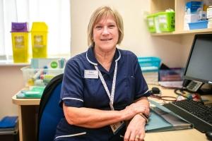 Sharon Stebbing, Practice Nurse, Fakenham Medical Practice
