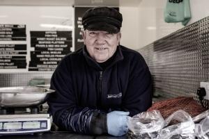 Willy Weston, Fishmonger, Fakenham Market