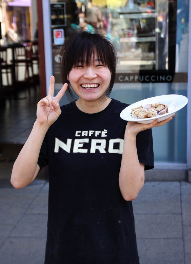Caffe Nero Girl - Norwich